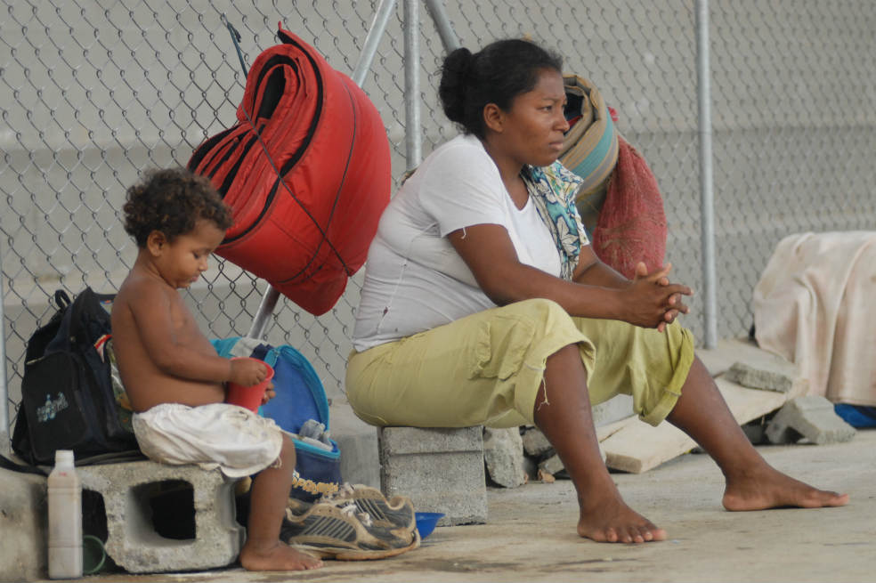 27b65cc3706e4d471a822da0e3eac6e7 0 Colombia: the country with the most displaced people in the world