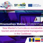 piezawebnar2 #ErasmusDays Webinar: Nuevos Curriculos de STOREM