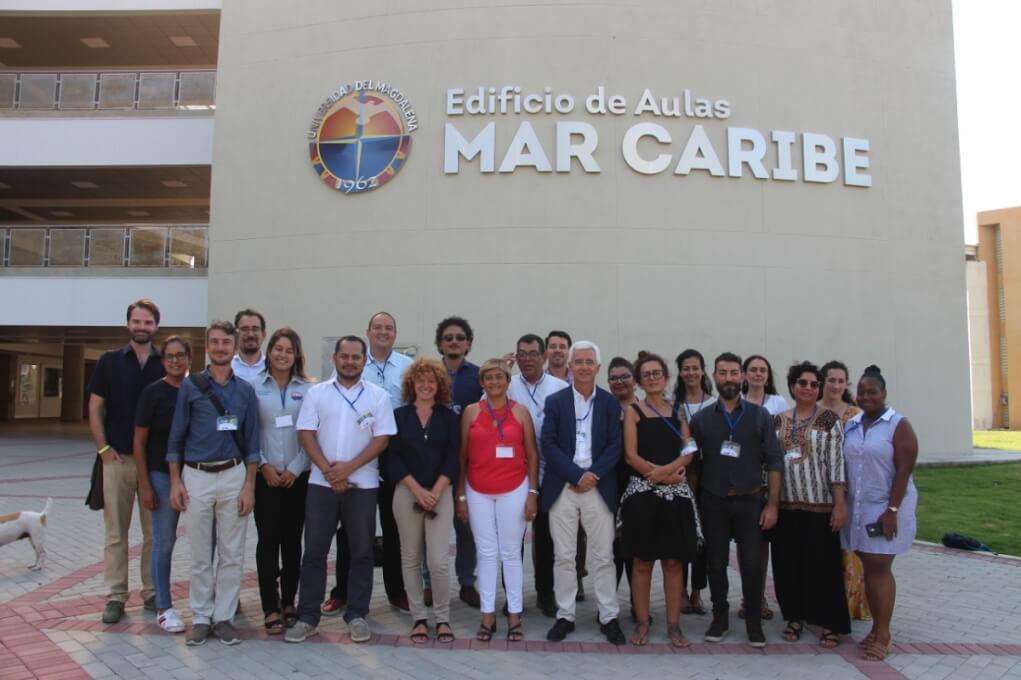 FOTO 2 REUNIOìN PROYECTO STOREM DICIEMBRE 2019 Nueva Maestría de UniMagdalena en Gestión del Turismo Sostenible aprobada por el Ministerio de Educación Nacional