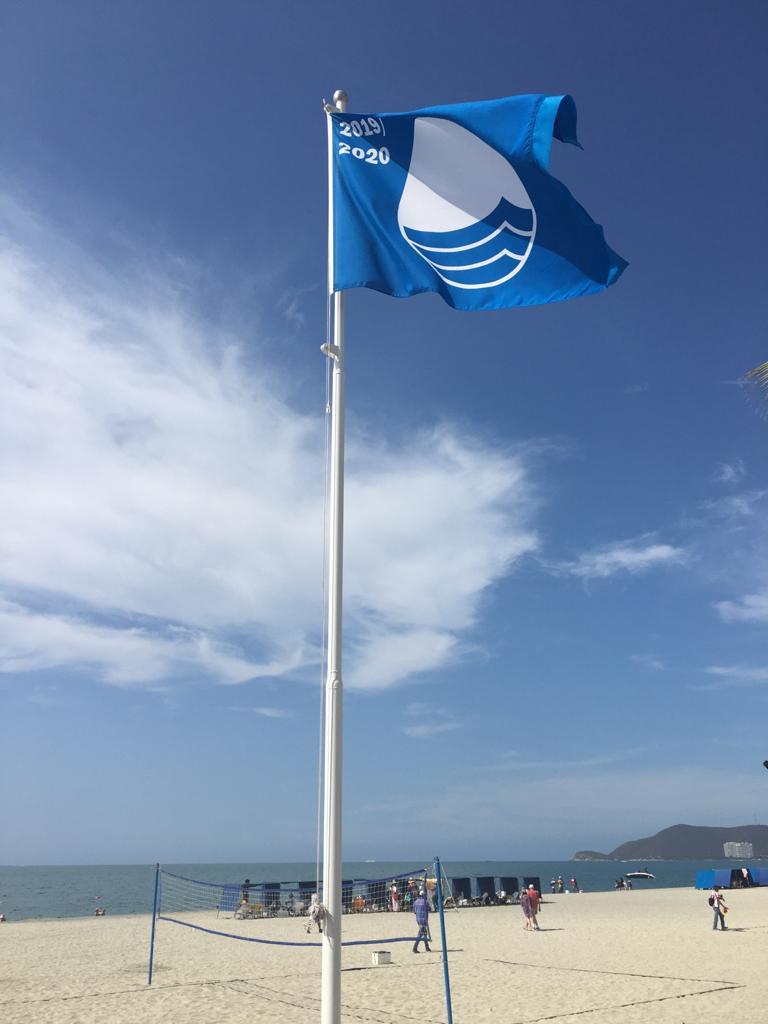 "IMG bandera 1 Capacity Building Workshop on the International ""Blue Flag"" Program for Beach Certification"