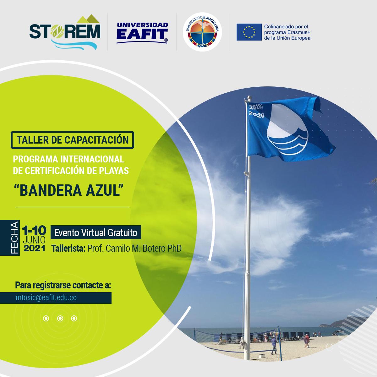 "Post Taller Bandera Azul Capacity Building Workshop on the International ""Blue Flag"" Program for Beach Certification"